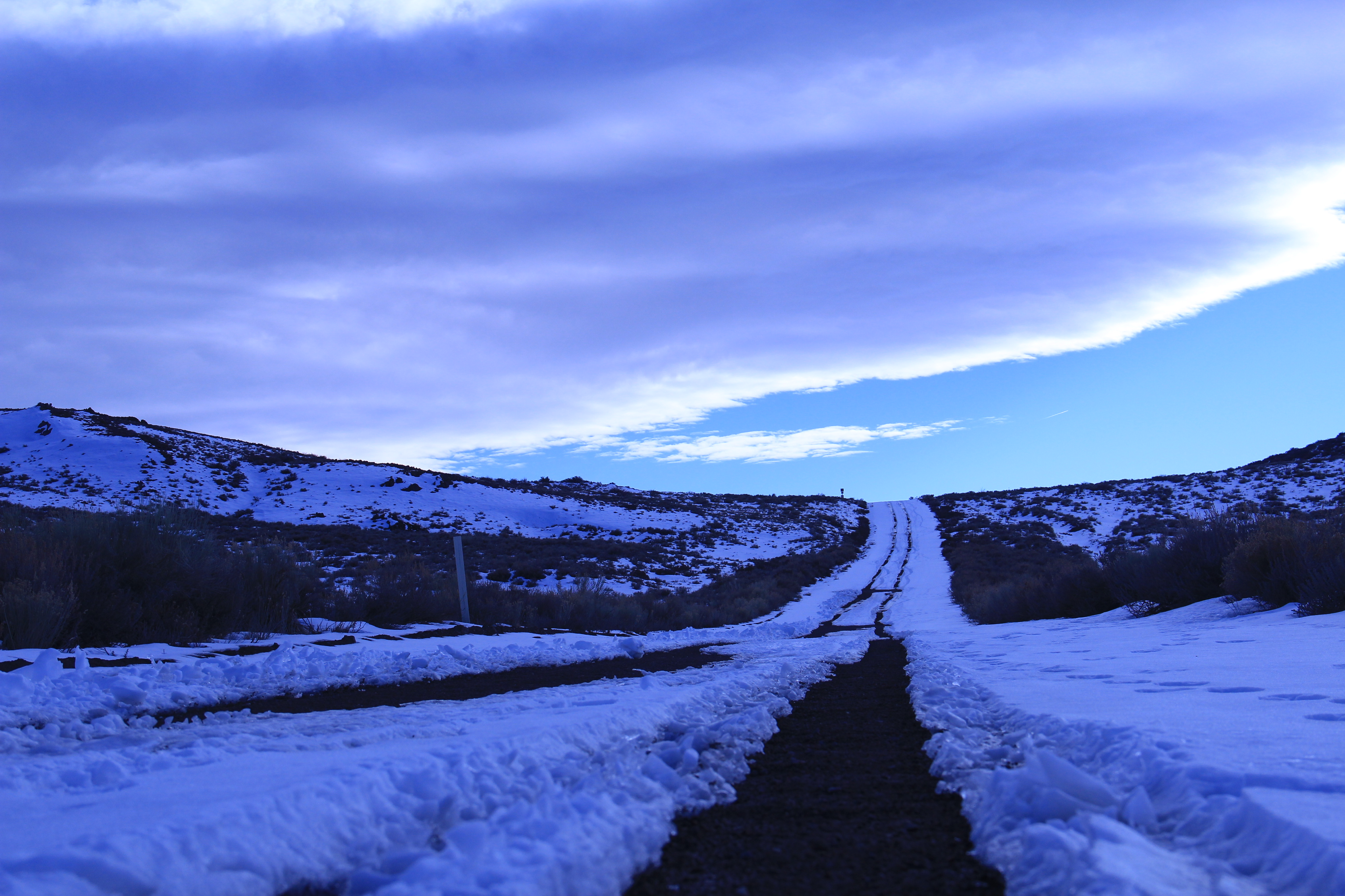The road to Bodie.