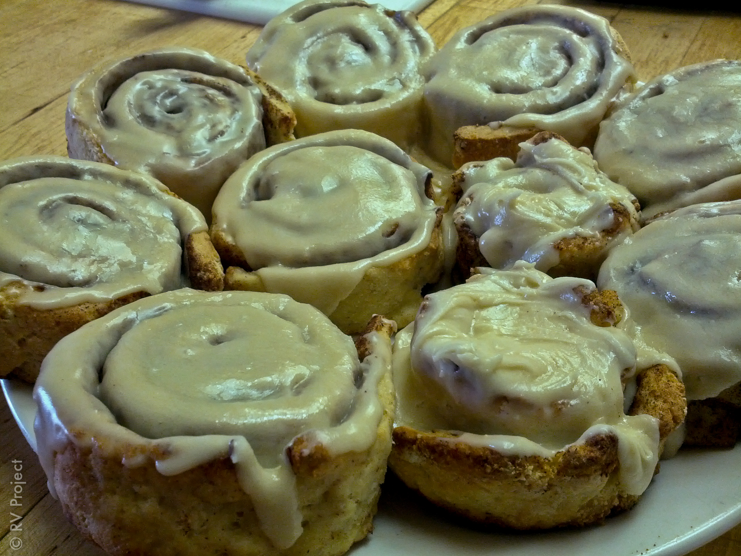 My first stab at making gluten-free cinnamon rolls from scratch! I took full advantage of the oven at the Zoo.