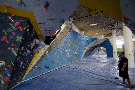 Shaun calmly dispatches a moderate classic, the Yellow V6